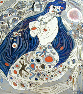 White Mermaid 1988 Limited Edition Print - Tie-Feng Jiang