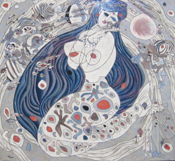 Mermaid 1987 Limited Edition Print - Tie-Feng Jiang