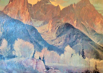 Western Landscape 1980 Limited Edition Print - Jim Wilcox