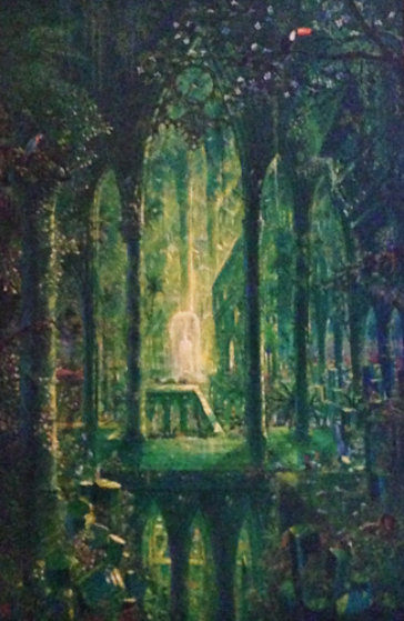 Emerald Cathedral 45x34
