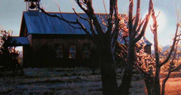 Sunrise At Llano 1997 26x44