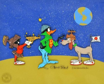Duck Dodgers Trio 1990 Limited Edition Print - Chuck Jones