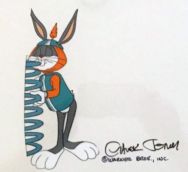 Untitled (bugs Bunny From Bugs Bunny in King Arthur's Court) 1978 Unique