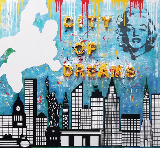 City of Dreams 2018 60x54