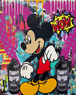 Graffiti Time 2019 30x24 Original Painting -  Jozza