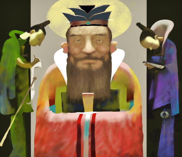 Confucius And His Disciples 2006
