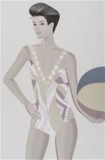 Chance 3 (Darinka) Suite of 3 2016 Limited Edition Print - Alex Katz