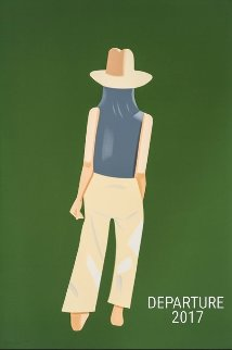 Departure PP 2017 Limited Edition Print - Alex Katz
