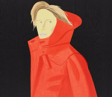 Nicole 2018 Limited Edition Print - Alex Katz