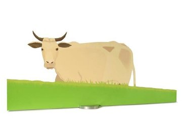 Cow Sculpture 2004  Sculpture - Alex Katz