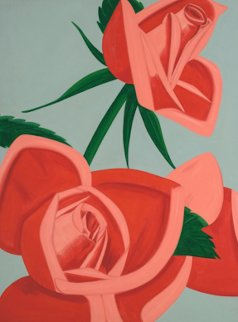 Rose Bud 2019 Limited Edition Print - Alex Katz