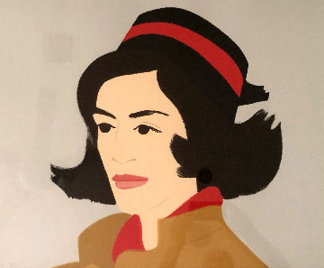 Ada in Hat 1990 Limited Edition Print - Alex Katz