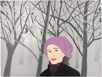 January 7 1993 Limited Edition Print - Alex Katz