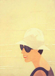 Margit Smiles Limited Edition Print - Alex Katz
