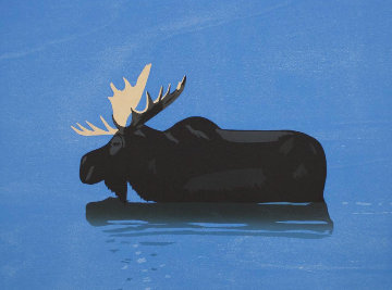 Moose 2013 Limited Edition Print - Alex Katz
