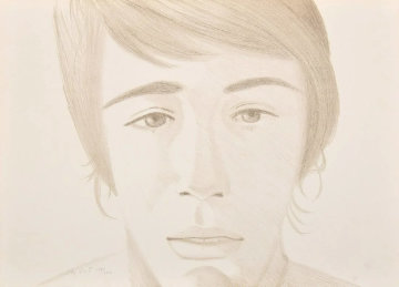 Vincent 1972 Limited Edition Print - Alex Katz