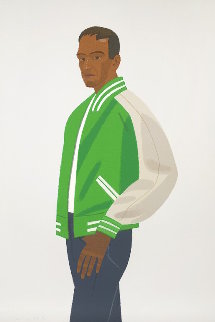 Alex And Ada Suite: Green Jacket 1990 Limited Edition Print - Alex Katz
