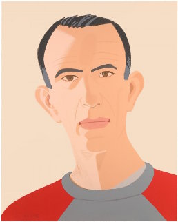 Alex And Ada Suite: Sweatshirt 2 1990 Limited Edition Print - Alex Katz