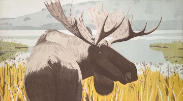 Moose 1983 Limited Edition Print - Alex Katz