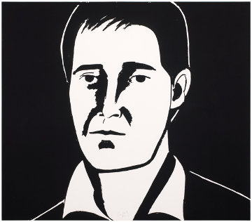 Six Portraits- Javier 2013 Limited Edition Print - Alex Katz