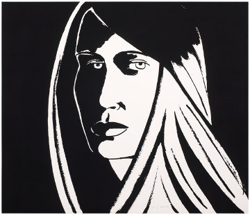 Elizabeth II, from Six Portraits 2013 Limited Edition Print - Alex Katz