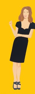 Black Dress; individual images available 2015  Limited Edition Print - Alex Katz