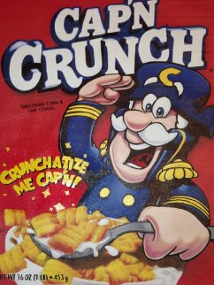 Cap'n Crunch  2000 36x27 Original Painting - Steve Kaufman