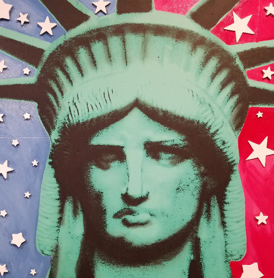 Statute of Liberty Embellished