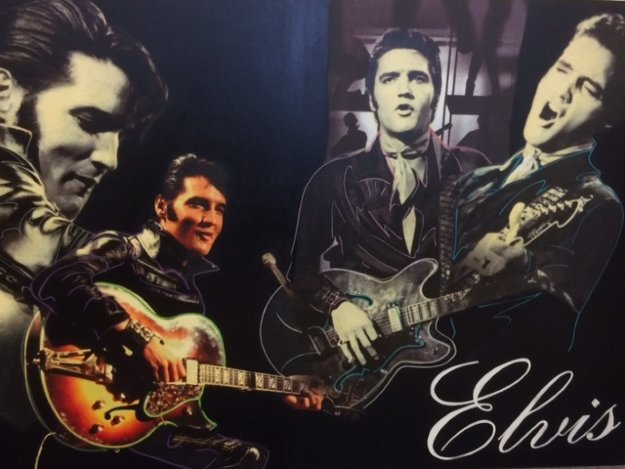 Elvis Presley Unique 2007 40x60