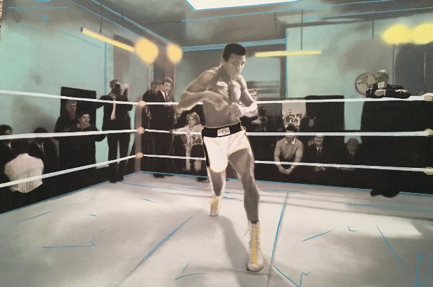 Muhammad Ali Collection Unique 32x48