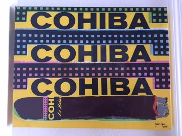 Triple Cohiba 1998 Limited Edition Print - Steve Kaufman