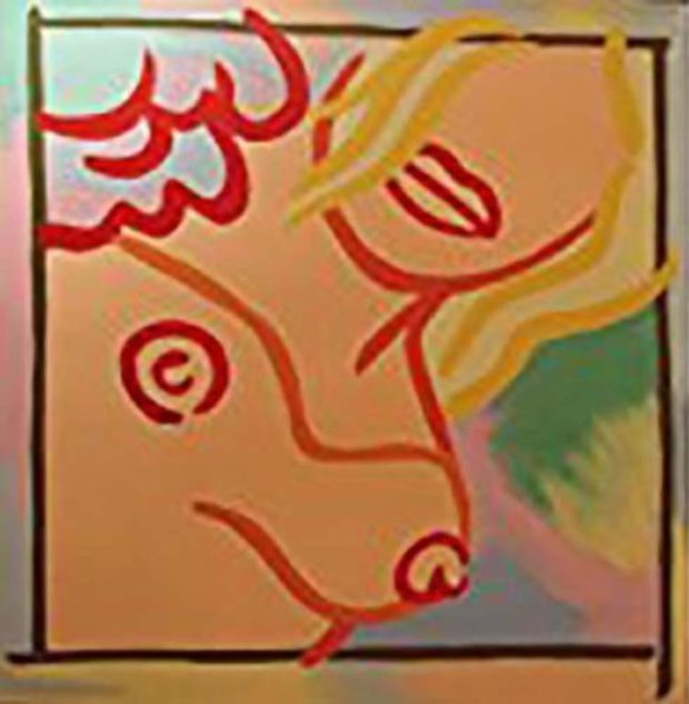 Homage to Wesselmann I 2010 48x48