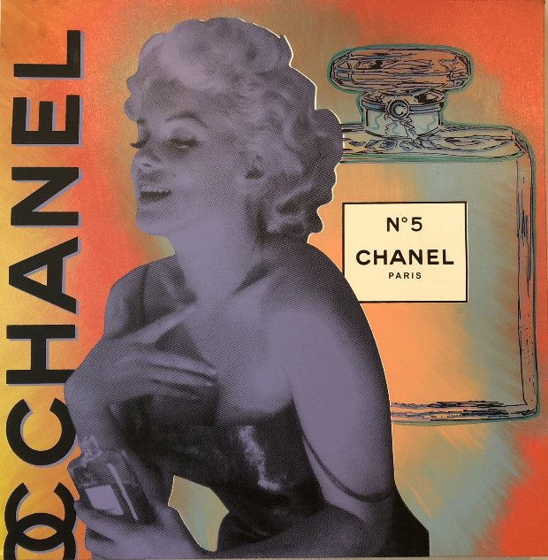 Chanel Marilyn, State I Unique 30x30