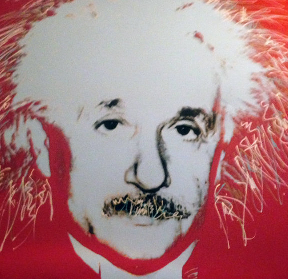 Einstein - Homage to Genius Series  1996 Embellished