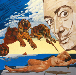 Homage to Dali 2006 Limited Edition Print - Steve Kaufman