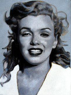 Norma Jean, Marilyn Gray 2004 19x16 Limited Edition Print - Steve Kaufman