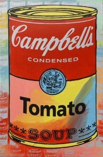 Campbells Soup II Tomato Embellished Limited Edition Print - Steve Kaufman