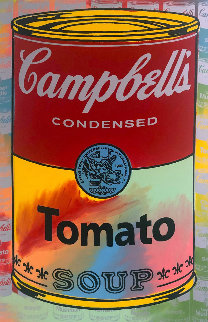 Campbells Soup II Tomato AP Embellished Limited Edition Print - Steve Kaufman