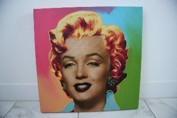 Marilyn Icon - Multi Embellished Limited Edition Print - Steve Kaufman