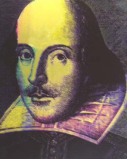 William Shakespeare State I 1996 Limited Edition Print - Steve Kaufman