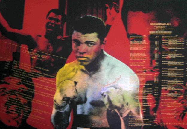 Muhammad Ali, The Greatest Series, State II AP 1996 Embellished