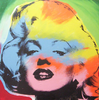 Marilyn Monroe State IV Multicolored 1995 Limited Edition Print - Steve Kaufman