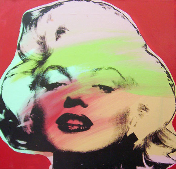 Marilyn Monroe State I Red Background 1995