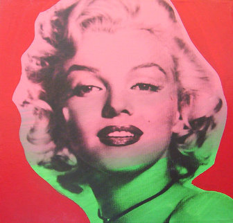 Marilyn Monroe State VII Red Background 1995 Limited Edition Print - Steve Kaufman