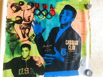 Muhammad Ali Olympic State 1 Ap Hs by Ali Limited Edition Print - Steve Kaufman
