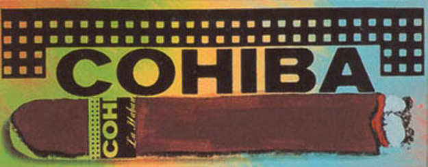 Cohiba State II Limited Edition Print by Steve Kaufman