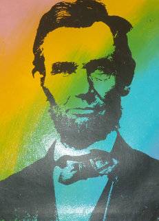 Abe Lincoln Portrait AP Limited Edition Print - Steve Kaufman