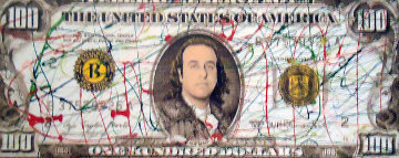 $100 Bill Limited Edition Print - Steve Kaufman