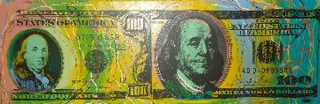 Old And New $100 Dollar TP 2006 Limited Edition Print - Steve Kaufman