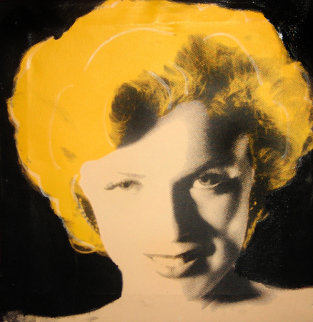 Shy Marilyn Limited Edition Print - Steve Kaufman
